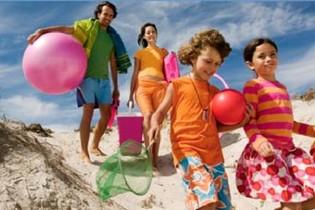 нуд пляж семьи фотографии