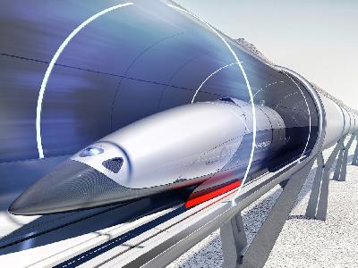 Hyperloop разгонит поезд в Испании до 1200 км/час